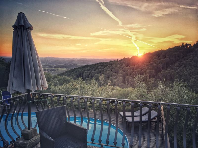 Sunset chianti